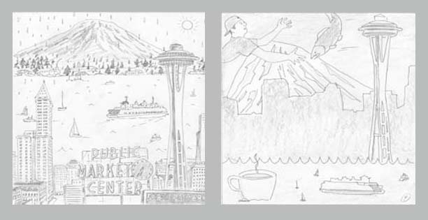 amex seattle sketches