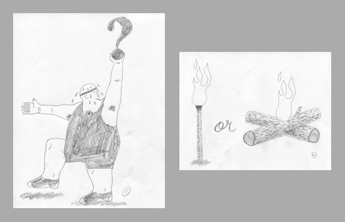 Obesity Paradox Sketches by Ken Orvidas