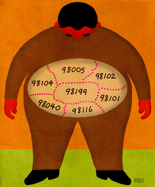 Obesity in Your Neighborhood? by Ken Orvidas